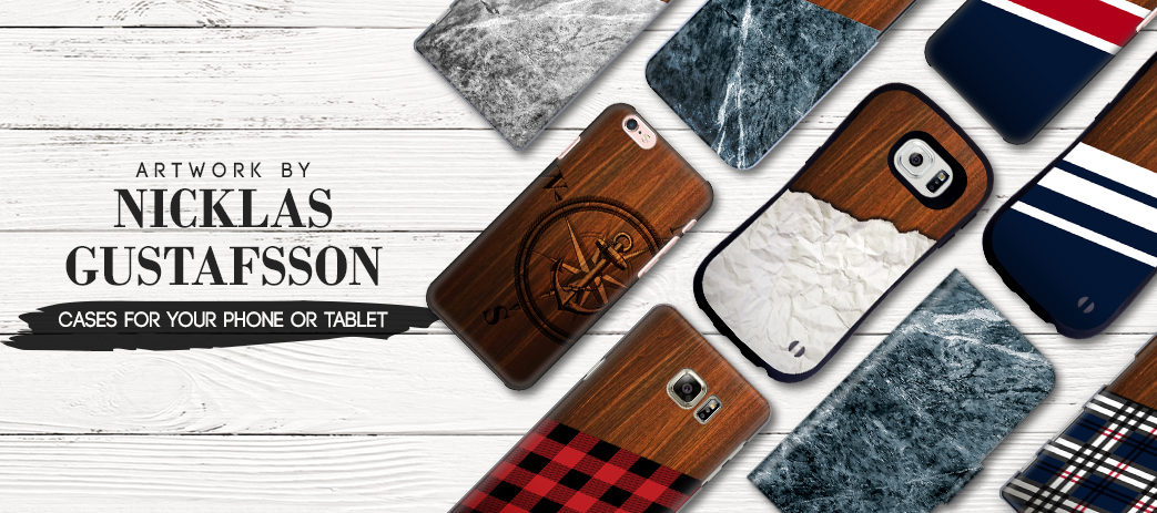 Phone Case, Tablet Case, Covers, Stickers, Skins Nicklas Gustafsson