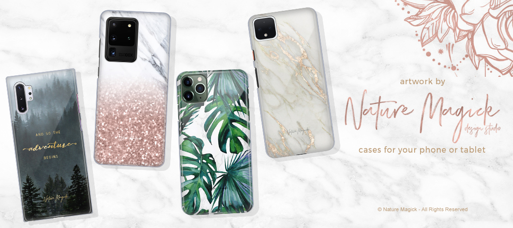 Phone Case, Tablet Case, Covers, Stickers, Skins Nature Magick