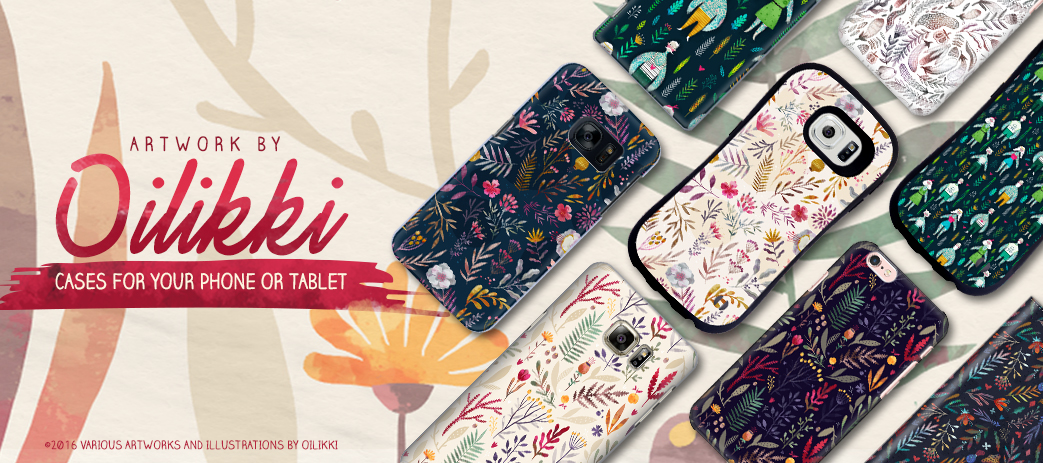 Phone Case, Tablet Case, Covers, Stickers, Skins Oilikki