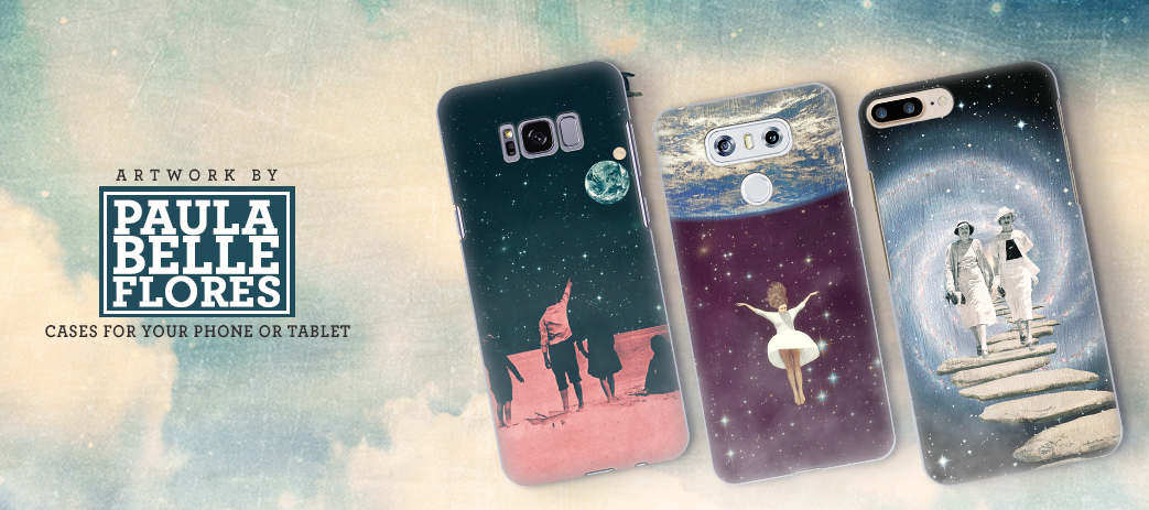 Phone Case, Tablet Case, Covers, Stickers, Skins Paula Belle Flores