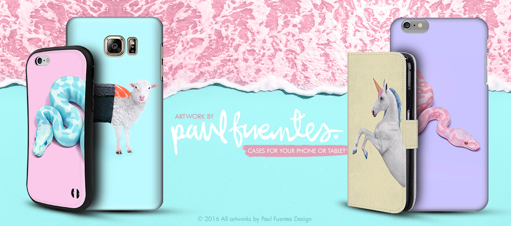 Phone Case, Tablet Case, Covers, Stickers, Skins Paul Fuentes