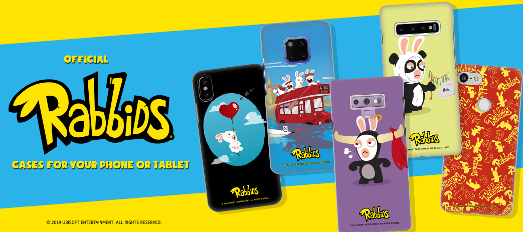 Phone Case, Tablet Case, Covers, Stickers, Skins Rabbids