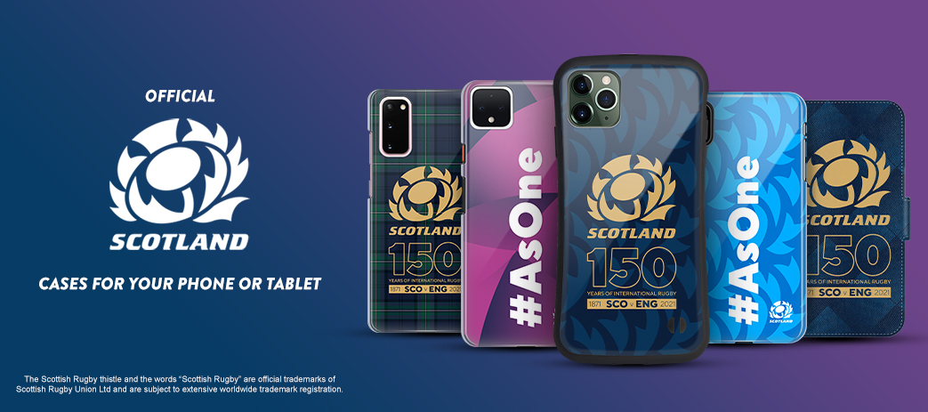 Phone Case, Tablet Case, Covers, Stickers, Skins Scotland Rugby