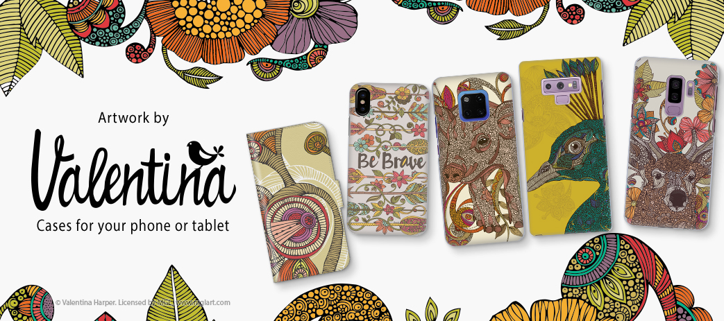 Phone Case, Tablet Case, Covers, Stickers, Skins Valentina