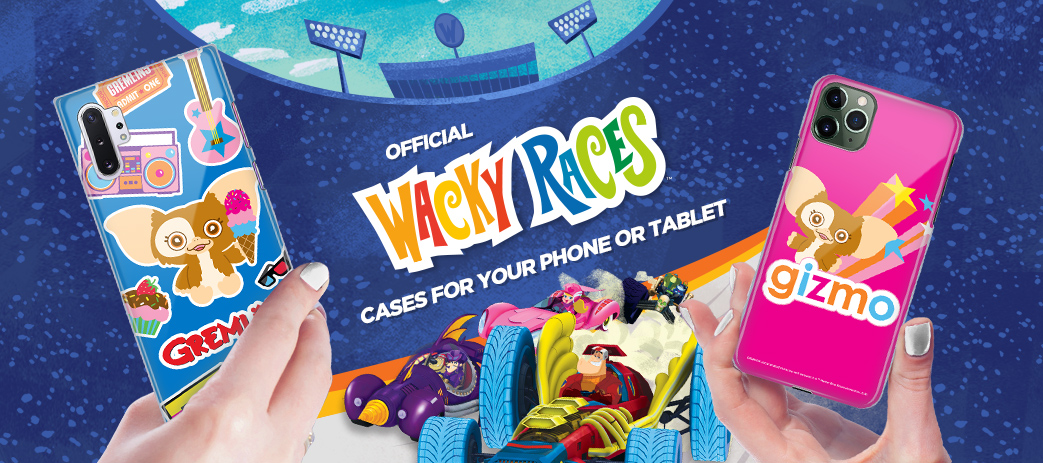 Phone Case, Tablet Case, Covers, Stickers, Skins Wacky Races