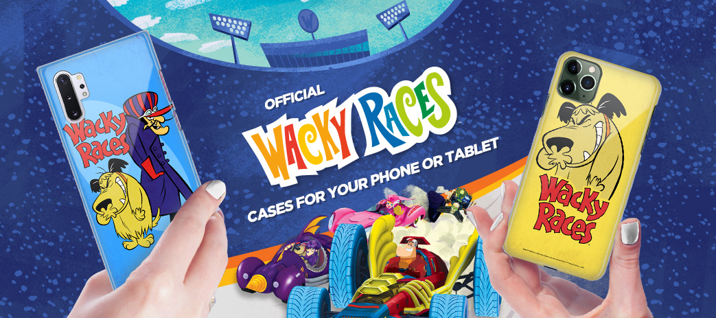 Phone Case, Tablet Case, Covers, Stickers, Skins Wacky Races 2016
