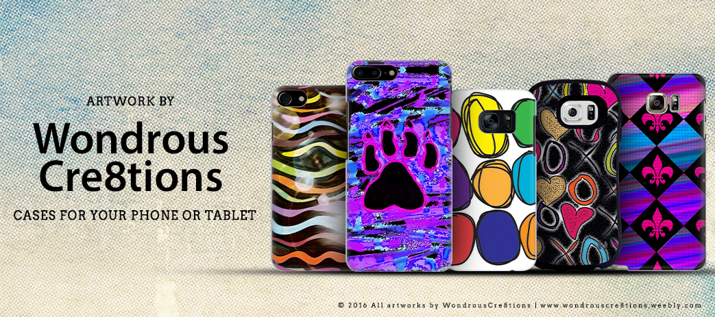 Phone Case, Tablet Case, Covers, Stickers, Skins WondrousCre8tions