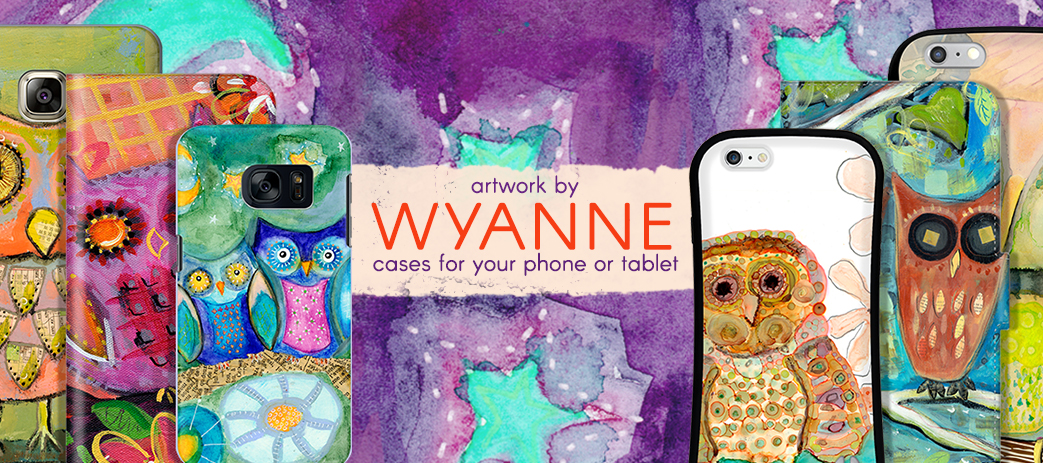 Phone Case, Tablet Case, Covers, Stickers, Skins Wyanne
