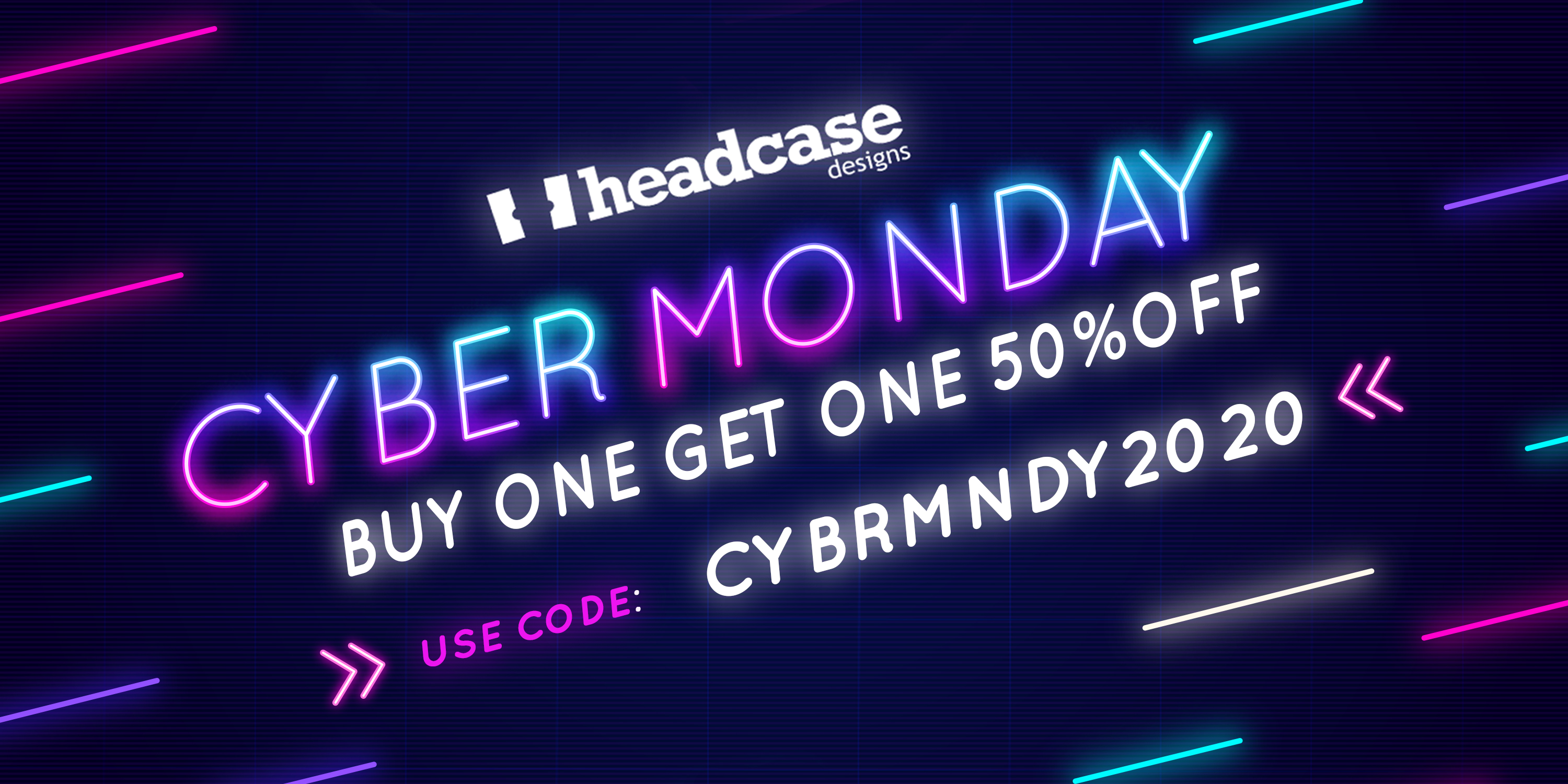 Cyber Monday 2020 Sale Banner
