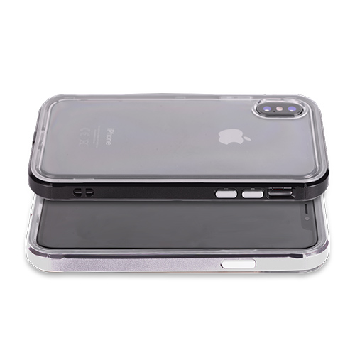 Clear Metallic Bumper Case (Style A) Phone & Tablet Case Cover