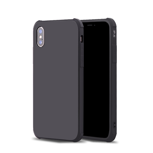 Shockproof Matte Black Phone & Tablet Case Cover